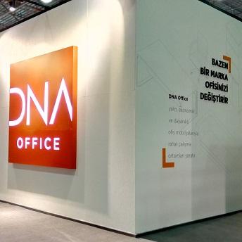 DNA Office Uluslararası İstanbul Mobilya Fuarı'nda.